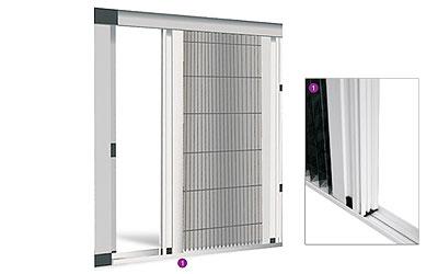 Plisé dveřní síť - EASY