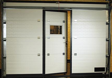 Sekční vrata dwg