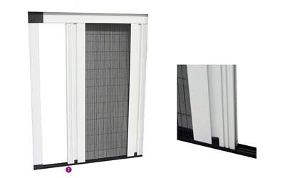 Plisé dveřní síť - MINI